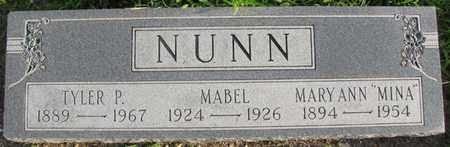 NUNN, MABEL - Saunders County, Nebraska | MABEL NUNN - Nebraska Gravestone Photos