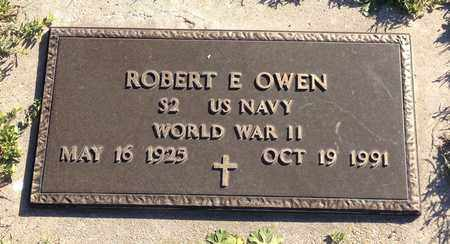 OWEN, ROBERT E (MILITARY MARKER) - Saunders County, Nebraska | ROBERT E (MILITARY MARKER) OWEN - Nebraska Gravestone Photos