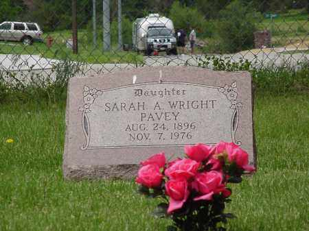 PAVEY, SARAH AUGUSTA - Saunders County, Nebraska | SARAH AUGUSTA PAVEY - Nebraska Gravestone Photos