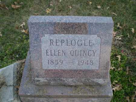 QUINCY, ELLEN - Saunders County, Nebraska   ELLEN QUINCY - Nebraska Gravestone Photos