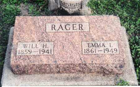 RAGER, EMMA - Saunders County, Nebraska   EMMA RAGER - Nebraska Gravestone Photos