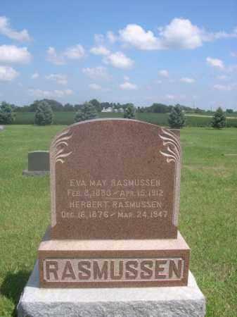 RASMUSSEN, HERBERT - Saunders County, Nebraska | HERBERT RASMUSSEN - Nebraska Gravestone Photos