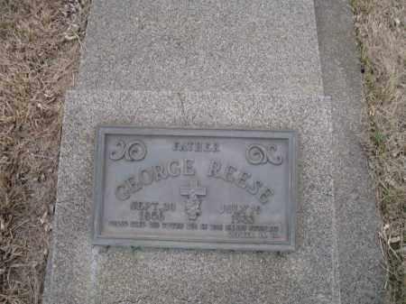 REESE, GEORGE - Saunders County, Nebraska | GEORGE REESE - Nebraska Gravestone Photos