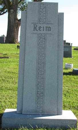 REIM, (FAMILY MONUMENT) - Saunders County, Nebraska | (FAMILY MONUMENT) REIM - Nebraska Gravestone Photos