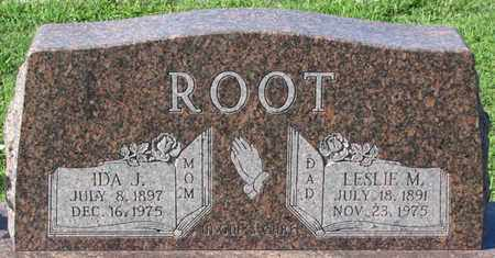 ROOT, LESLIE M. - Saunders County, Nebraska | LESLIE M. ROOT - Nebraska Gravestone Photos