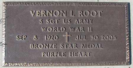 ROOT, VERNON L. - Saunders County, Nebraska   VERNON L. ROOT - Nebraska Gravestone Photos