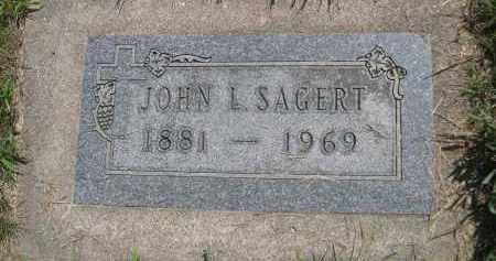 SAGERT, JOHN L. - Saunders County, Nebraska | JOHN L. SAGERT - Nebraska Gravestone Photos
