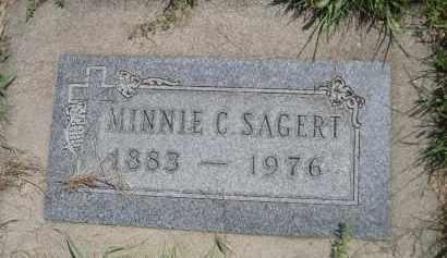 SAGERT, MINNIE C. - Saunders County, Nebraska | MINNIE C. SAGERT - Nebraska Gravestone Photos