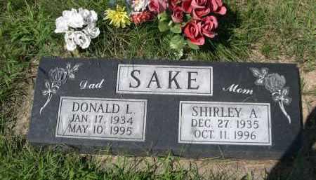 SAKE, SHIRLEY A. - Saunders County, Nebraska | SHIRLEY A. SAKE - Nebraska Gravestone Photos
