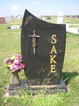SAKE, FAMILY - Saunders County, Nebraska | FAMILY SAKE - Nebraska Gravestone Photos