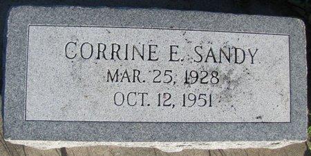 VANCE SANDY, ELIZABETH - Saunders County, Nebraska | ELIZABETH VANCE SANDY - Nebraska Gravestone Photos
