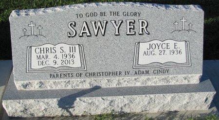 SAWYER, JOYCE E. - Saunders County, Nebraska | JOYCE E. SAWYER - Nebraska Gravestone Photos