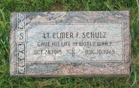 SCHULZ, ELMER F. - Saunders County, Nebraska | ELMER F. SCHULZ - Nebraska Gravestone Photos