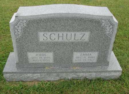 SCHULZ, EMMA - Saunders County, Nebraska | EMMA SCHULZ - Nebraska Gravestone Photos