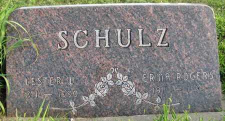 SCHULZ, LESTER W. - Saunders County, Nebraska | LESTER W. SCHULZ - Nebraska Gravestone Photos