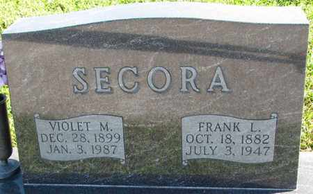 SECORA, VIOLET M. - Saunders County, Nebraska | VIOLET M. SECORA - Nebraska Gravestone Photos