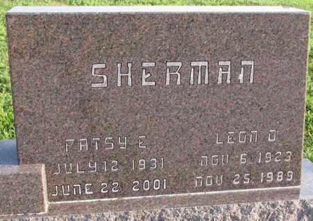 SHERMAN, LEON D. - Saunders County, Nebraska | LEON D. SHERMAN - Nebraska Gravestone Photos