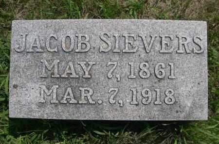 SIEVERS, JACOB - Saunders County, Nebraska | JACOB SIEVERS - Nebraska Gravestone Photos