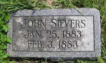 SIEVERS, JOHN - Saunders County, Nebraska   JOHN SIEVERS - Nebraska Gravestone Photos