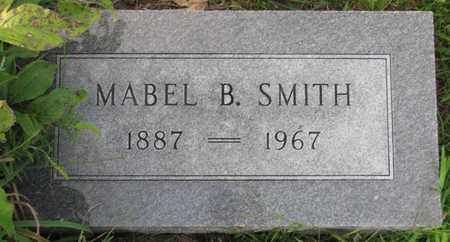 SMITH, MABEL B. - Saunders County, Nebraska | MABEL B. SMITH - Nebraska Gravestone Photos