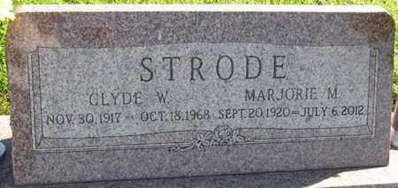 STRODE, MARJORIE M. - Saunders County, Nebraska | MARJORIE M. STRODE - Nebraska Gravestone Photos