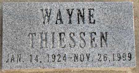 THIESSEN, WAYNE - Saunders County, Nebraska | WAYNE THIESSEN - Nebraska Gravestone Photos