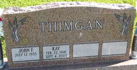 THIMGAN, KAY - Saunders County, Nebraska | KAY THIMGAN - Nebraska Gravestone Photos