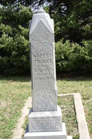 TRAIDER, ALBERT - Saunders County, Nebraska | ALBERT TRAIDER - Nebraska Gravestone Photos