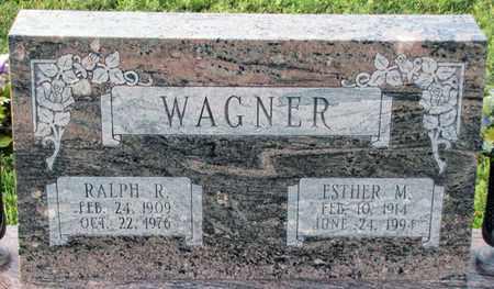 WAGNER, RALPH R. - Saunders County, Nebraska | RALPH R. WAGNER - Nebraska Gravestone Photos