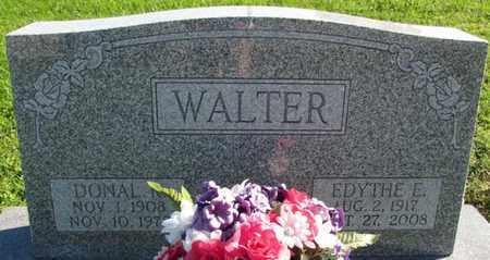 WALTER, EDYTHE DORA ELSE - Saunders County, Nebraska | EDYTHE DORA ELSE WALTER - Nebraska Gravestone Photos