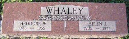 WHALEY, HELEN - Saunders County, Nebraska | HELEN WHALEY - Nebraska Gravestone Photos