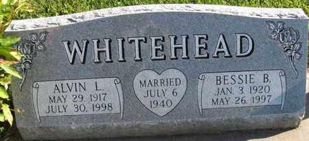 WHITEHEAD, BESSIE B. - Saunders County, Nebraska | BESSIE B. WHITEHEAD - Nebraska Gravestone Photos