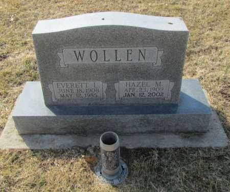 WOLLEN, EVERETT L. - Saunders County, Nebraska | EVERETT L. WOLLEN - Nebraska Gravestone Photos