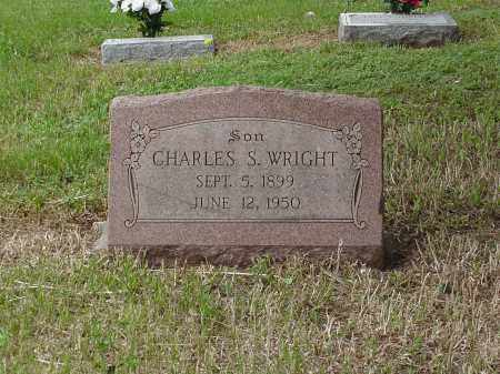 WRIGHT, CHARLES SINGLETON - Saunders County, Nebraska | CHARLES SINGLETON WRIGHT - Nebraska Gravestone Photos