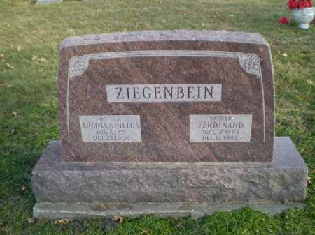 SHIELDS ZIEGENBEIN, ARLINA - Saunders County, Nebraska | ARLINA SHIELDS ZIEGENBEIN - Nebraska Gravestone Photos