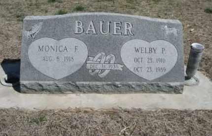 BAUER, WELBY P. - Scotts Bluff County, Nebraska | WELBY P. BAUER - Nebraska Gravestone Photos