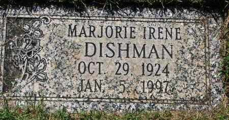 DISHMAN, MARJORIE IRENE - Scotts Bluff County, Nebraska | MARJORIE IRENE DISHMAN - Nebraska Gravestone Photos