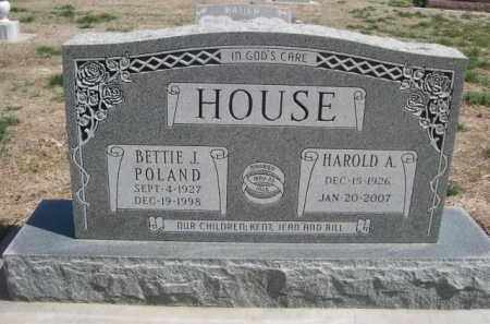 HOUSE, HAROLD A. - Scotts Bluff County, Nebraska | HAROLD A. HOUSE - Nebraska Gravestone Photos