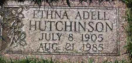 LACY HUTCHINSON, ETHNA ADELL - Scotts Bluff County, Nebraska | ETHNA ADELL LACY HUTCHINSON - Nebraska Gravestone Photos