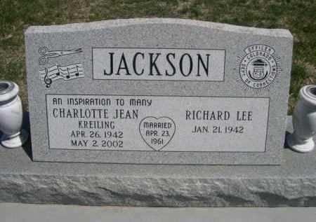 JACKSON, RICHARD LEE - Scotts Bluff County, Nebraska | RICHARD LEE JACKSON - Nebraska Gravestone Photos