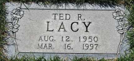 LACY, TED RAY - Scotts Bluff County, Nebraska | TED RAY LACY - Nebraska Gravestone Photos
