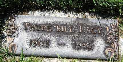 "LACY, THURE ""BILL"" - Scotts Bluff County, Nebraska | THURE ""BILL"" LACY - Nebraska Gravestone Photos"