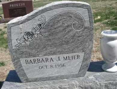 MEIER, BARBARA J. - Scotts Bluff County, Nebraska | BARBARA J. MEIER - Nebraska Gravestone Photos