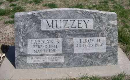 MUZZEY, LEROY D. - Scotts Bluff County, Nebraska | LEROY D. MUZZEY - Nebraska Gravestone Photos
