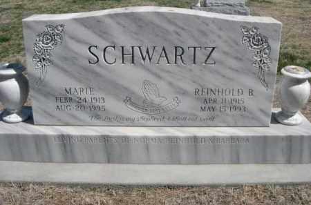 SCHWARTZ, REINHOLD B. - Scotts Bluff County, Nebraska | REINHOLD B. SCHWARTZ - Nebraska Gravestone Photos