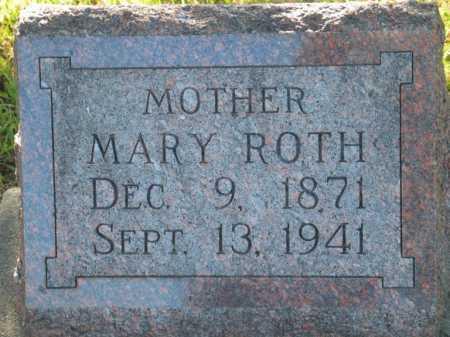 GUTH ROTH, MARY - Seward County, Nebraska   MARY GUTH ROTH - Nebraska Gravestone Photos