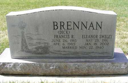 BRENNAN, FRANCIS R. - Sheridan County, Nebraska | FRANCIS R. BRENNAN - Nebraska Gravestone Photos