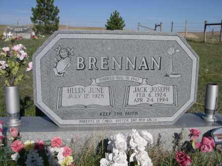 BRENNAN, HELEN JUNE - Sheridan County, Nebraska | HELEN JUNE BRENNAN - Nebraska Gravestone Photos