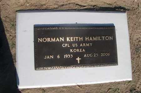 HAMILTON, NORMAN KEITH - Sheridan County, Nebraska   NORMAN KEITH HAMILTON - Nebraska Gravestone Photos