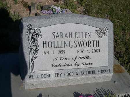 HOLLINGSWORTH, SARAH ELLEN - Sheridan County, Nebraska   SARAH ELLEN HOLLINGSWORTH - Nebraska Gravestone Photos